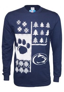 Ugly Sweater Paw/Logo Long Sleeve