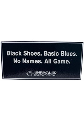 Wood Sign - Black Shoes